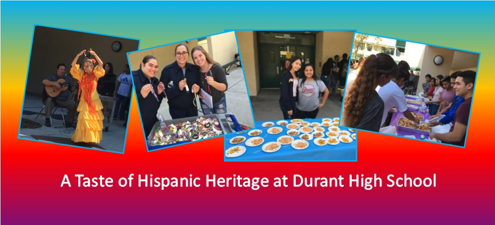 Image for A Taste of Hispanic Heritage at Durant High School