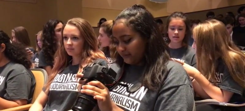 Image for District journalism students sweep local competition