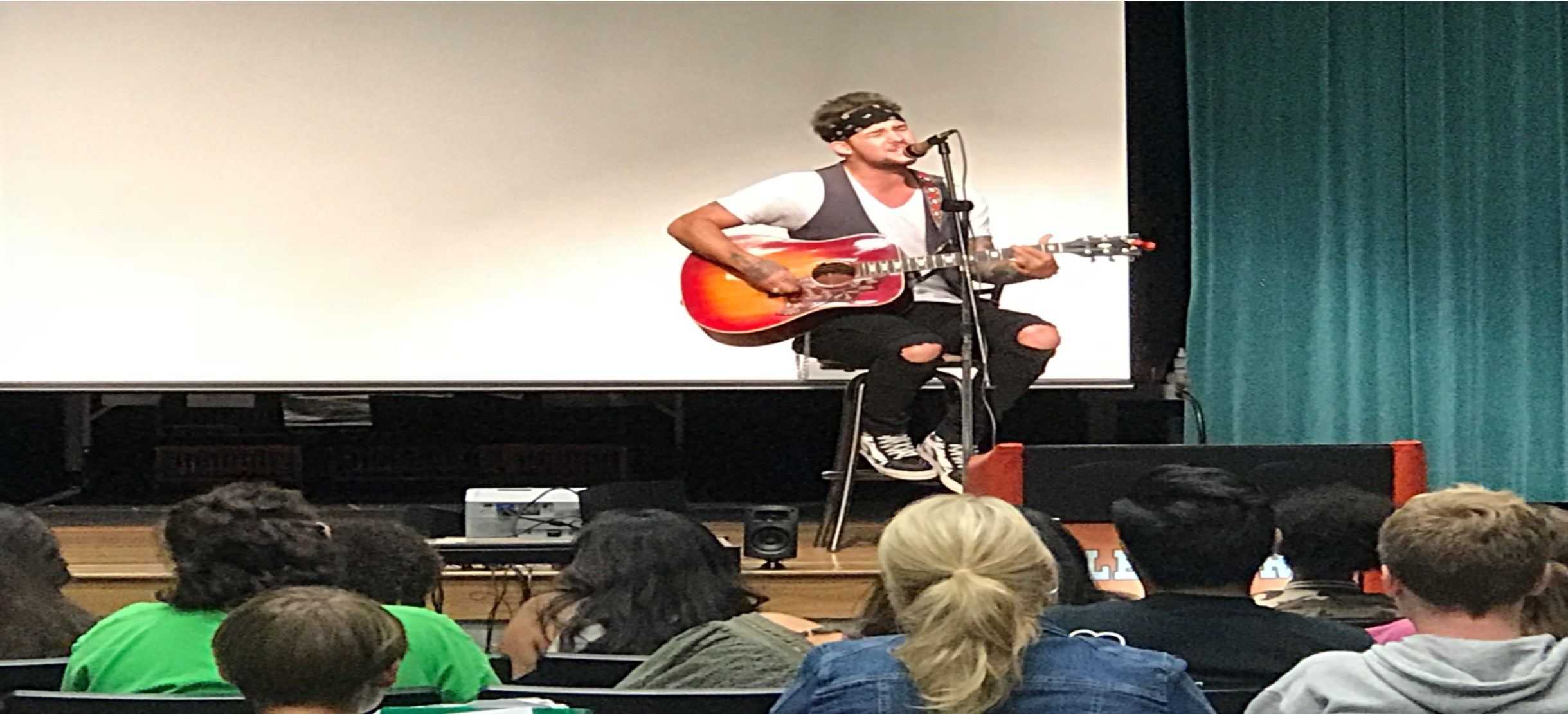 Image for Musician James Durbin shares his Story and Struggles with ESE Students