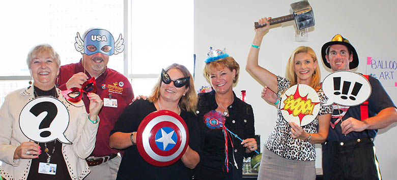 Image for myON Super Hero Bash celebrates district super readers