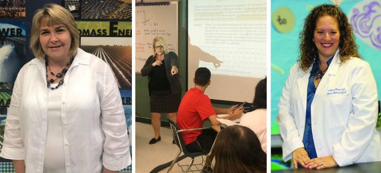 Image for Three teachers win $10,000 prizes for excellence in math/science education