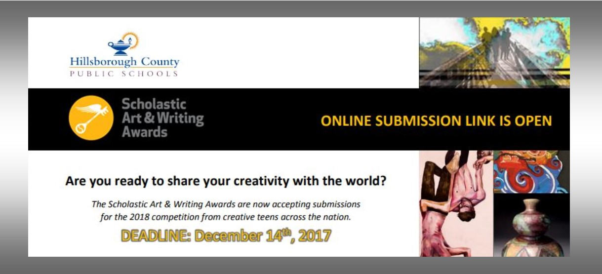 Image for The Scholastic Art & Writing Awards are now accepting submissions