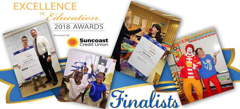 Image for Excellence in Education 2018 Finalists