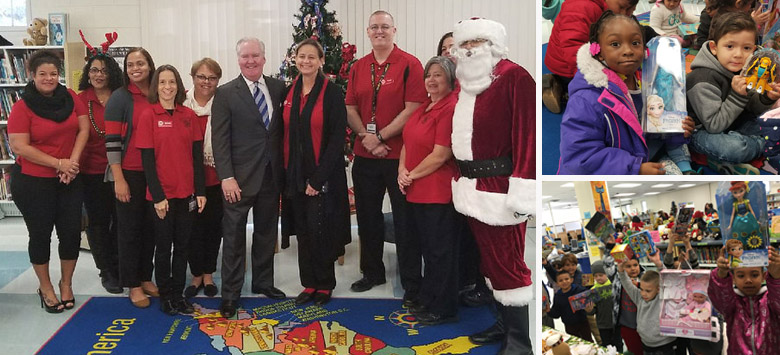 Image for Tampa Mayor continues tradition with a special holiday visit to DeSoto Elementary