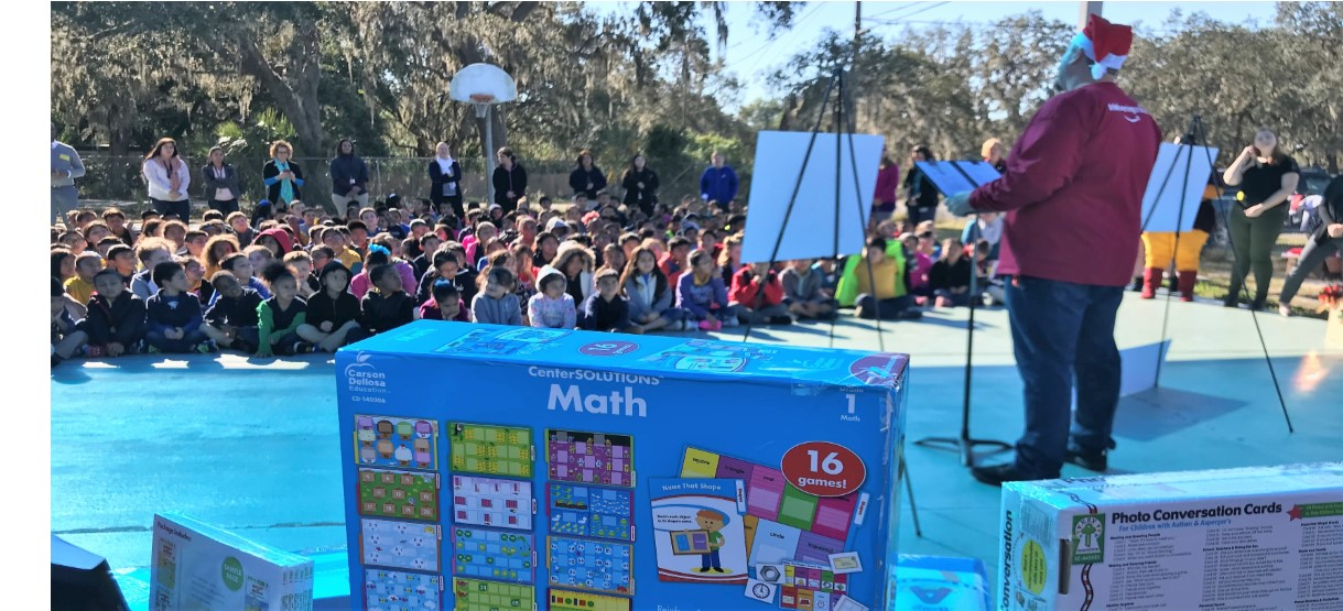Image for Wimauma ES Gets a Holiday Surprise from Amazon