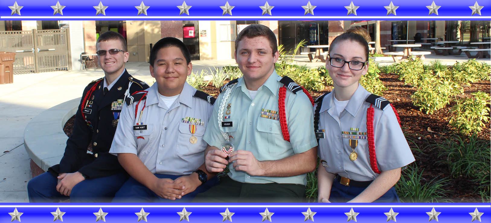 Image for Strawberry Crest JROTC: Pride and Patriotism in action
