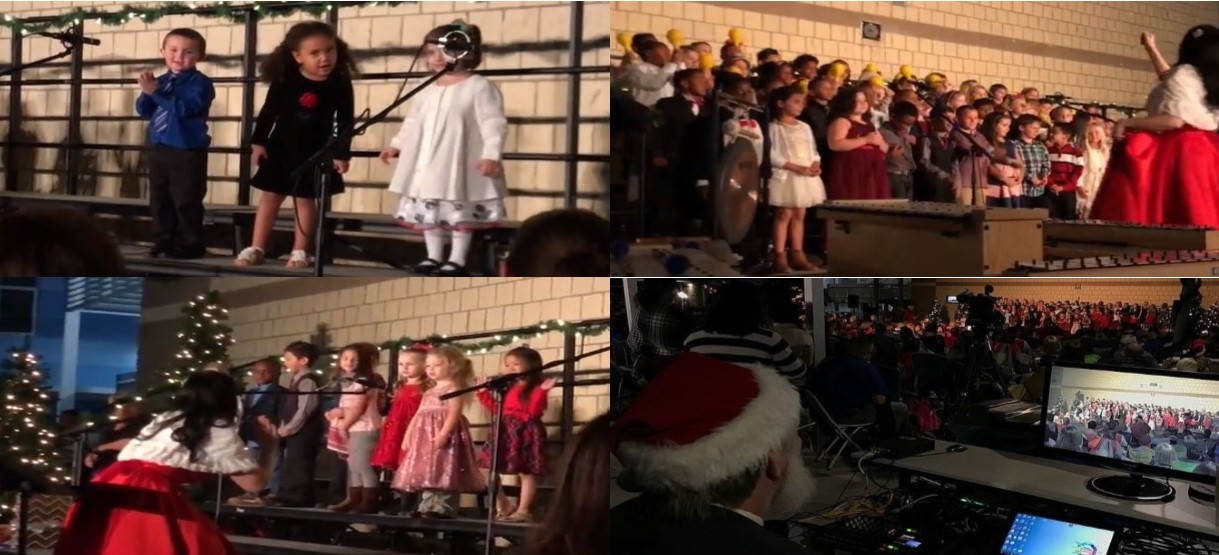 Image for Families Pack Dawson for New Elementary's First Winter Concert