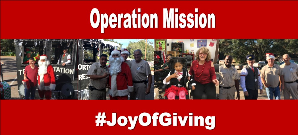 Image for OPERATION MISSION: THE JOY OF GIVING
