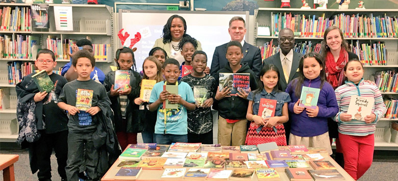 Image for Kimbell students celebrate literacy with U.S. Representative Shawn Harris
