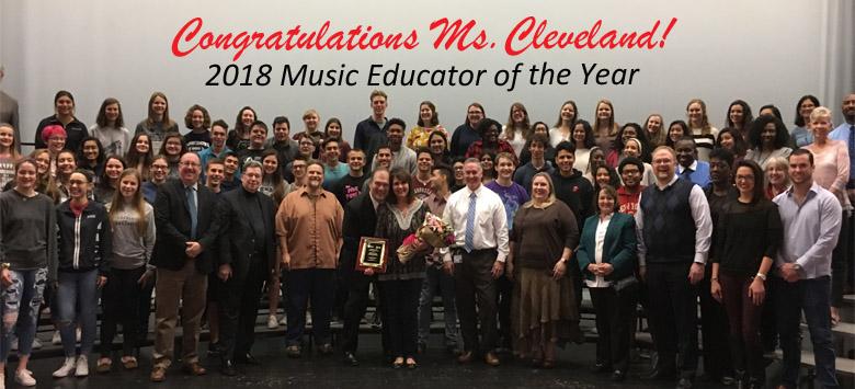 Image for Gaither choir director named 2018 Music Educator of Year
