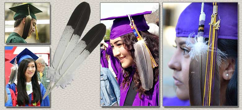 Image for Native American Students Approved to Wear Eagle Feather at Graduation