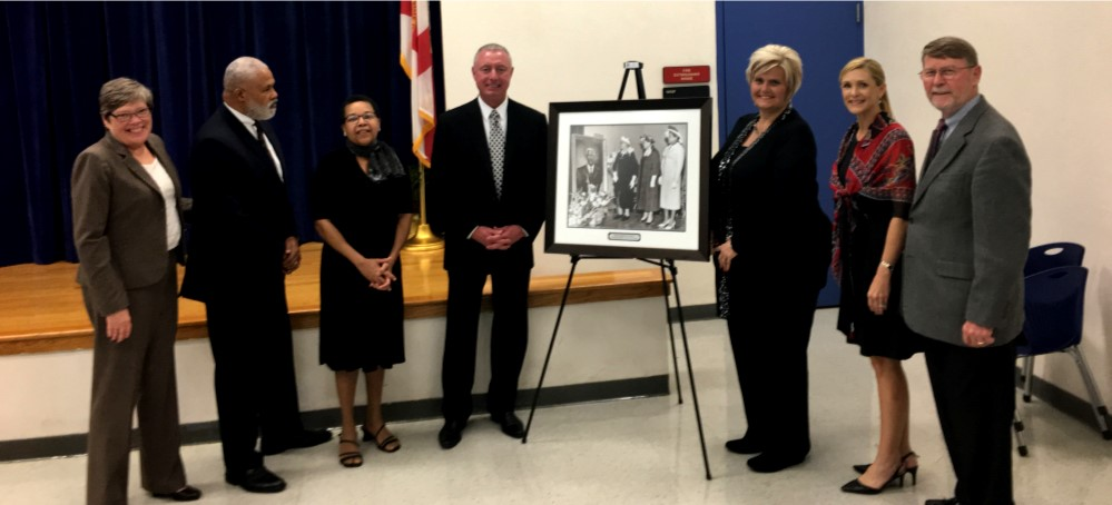 Image for The Unveiling of the E.J. Marshall Portrait at Marshall Middle School