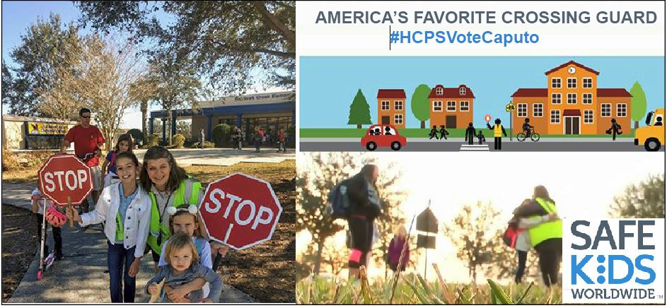 Image for Vote Now: Fishhawk crossing guard up for America's Favorite Crossing Guard!