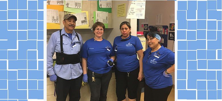 Image for 5 Ways our HCPS Custodial Staff Keeps our District Healthy and Clean