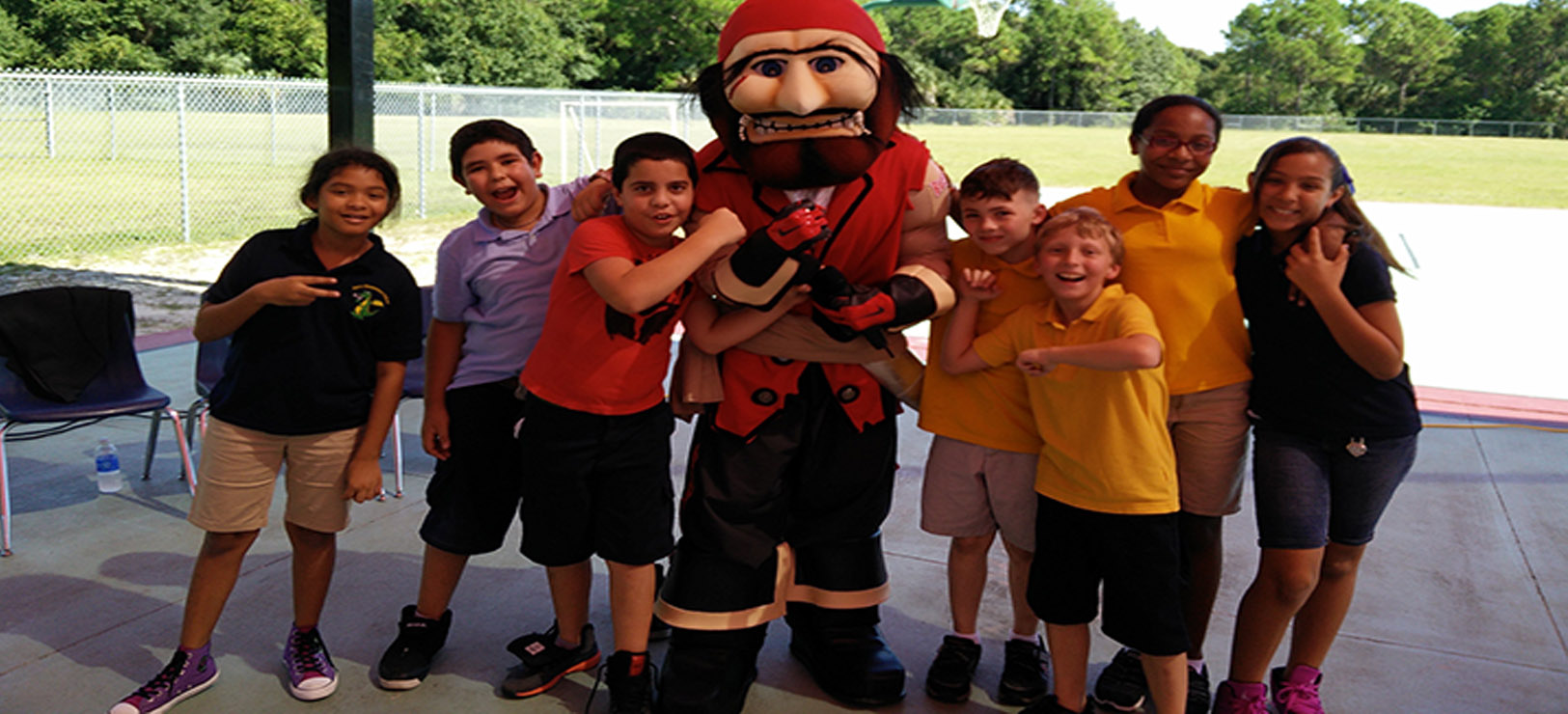 Image for The Bucs supporting students at Buccaneers Academy schools