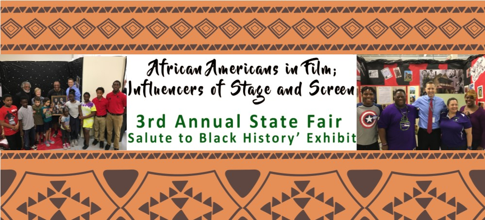 Image for Florida State Fair welcomes HCPS' African Americans in Film: Influencers of Stage and Screen Exhibit