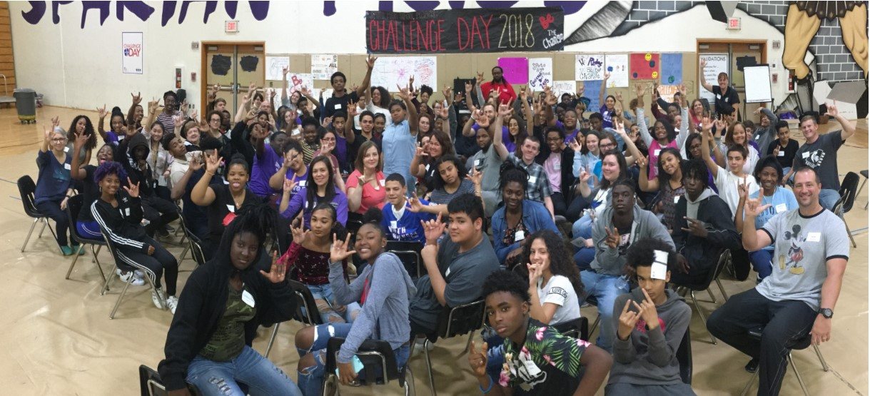 Image for Be The Change: Spoto High's Challenge Day