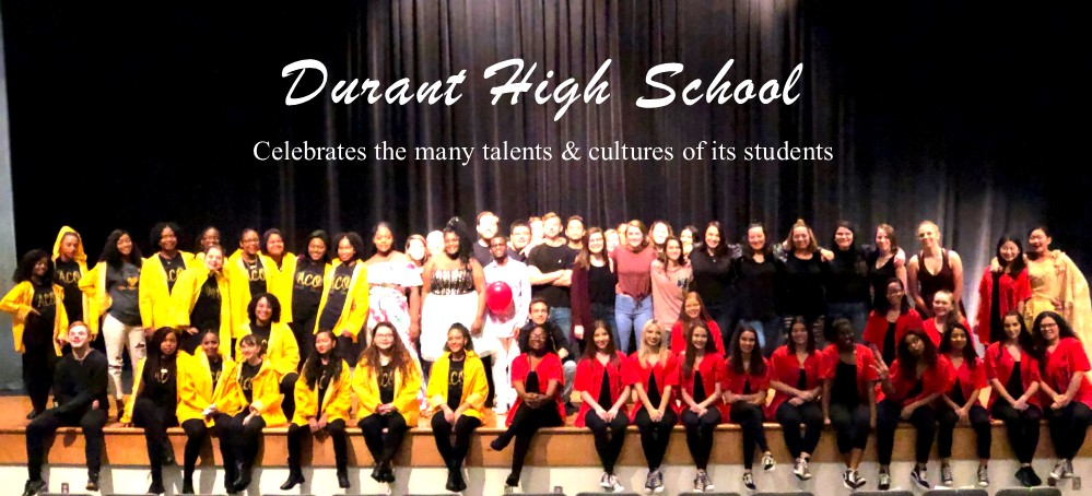 Image for Durant High School Showcases the Talents and Culture of its Students During Black History Month
