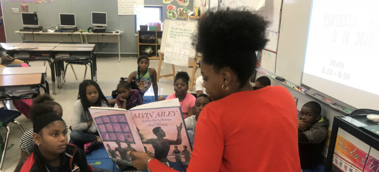 Image for Guests share stories at African-American Read-In events