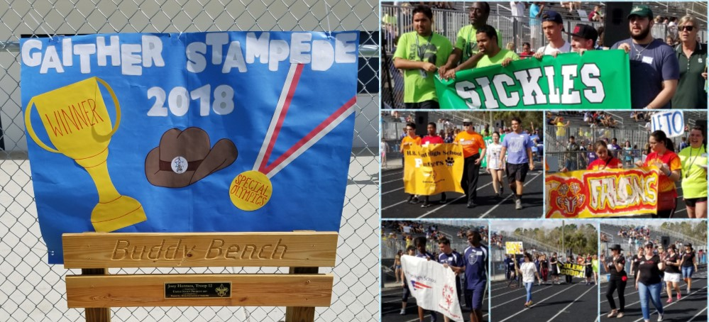 Image for The Annual Gaither Stampede welcomed Special Olympic Athletes and a Parade of Superheroes, Rough Riders and More!