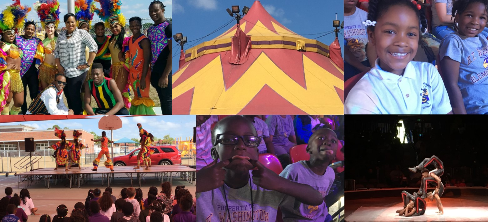 Image for Partnerships Bring Opportunity for Fun to Students Under the Big Top