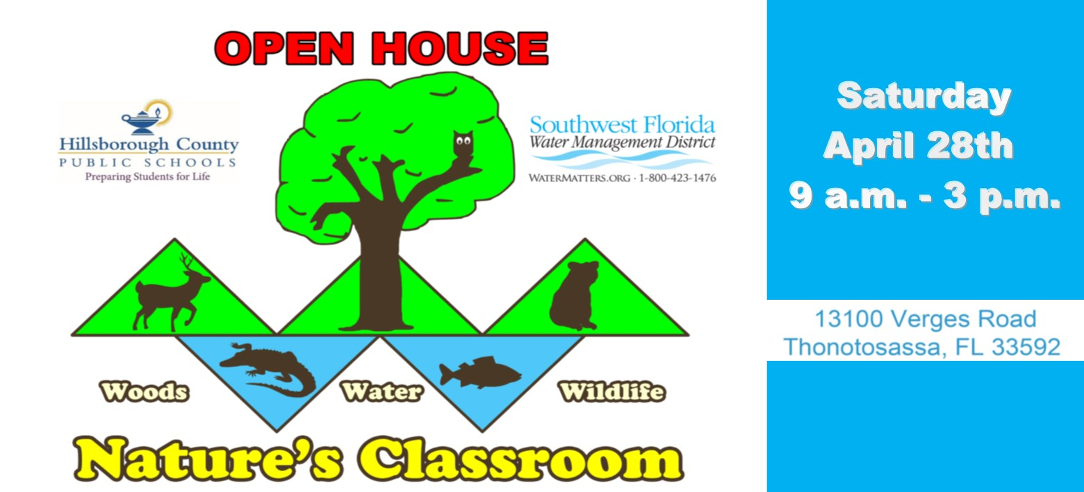 Image for Slither and splash your way to Nature's Classroom at open house this Saturday