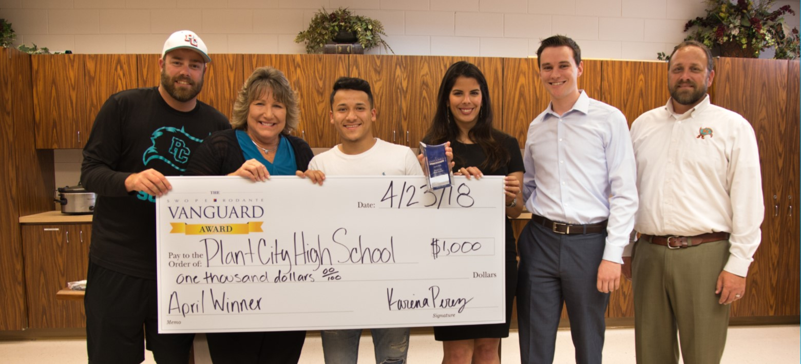 Image for Outstanding Plant City High School senior recognized for his dedication to family, school, work and community.