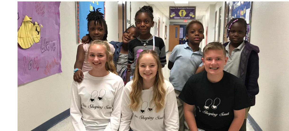 Image for Soles Shaping Souls: Eighth grader's mission to provide shoes to kids is off and running