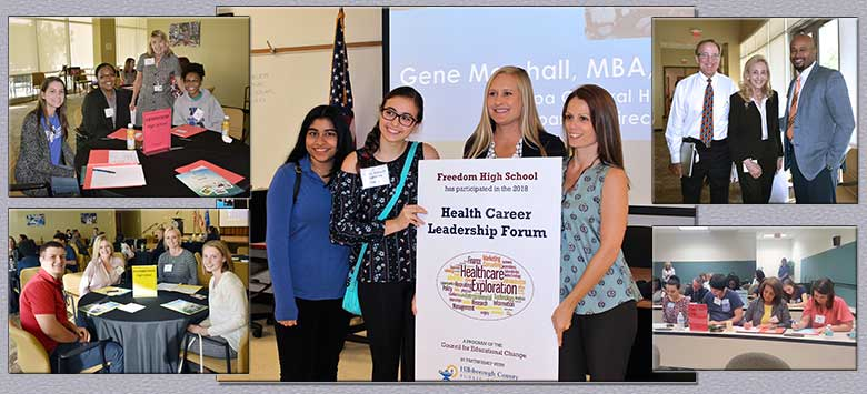 Image for Students explore health careers at leadership forum