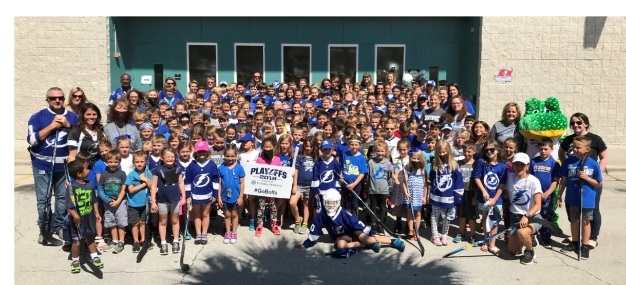 Image for #BoltsKids cheer for the Lightning