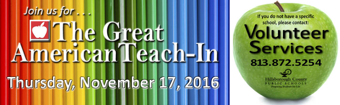 2016 Great American Teach In