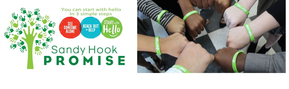 Start with Hello is part of the Sandy Hook Promise and was introduced in February at Hillsborough High School.