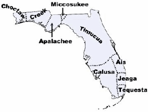 Tribal Map of Florida 2012